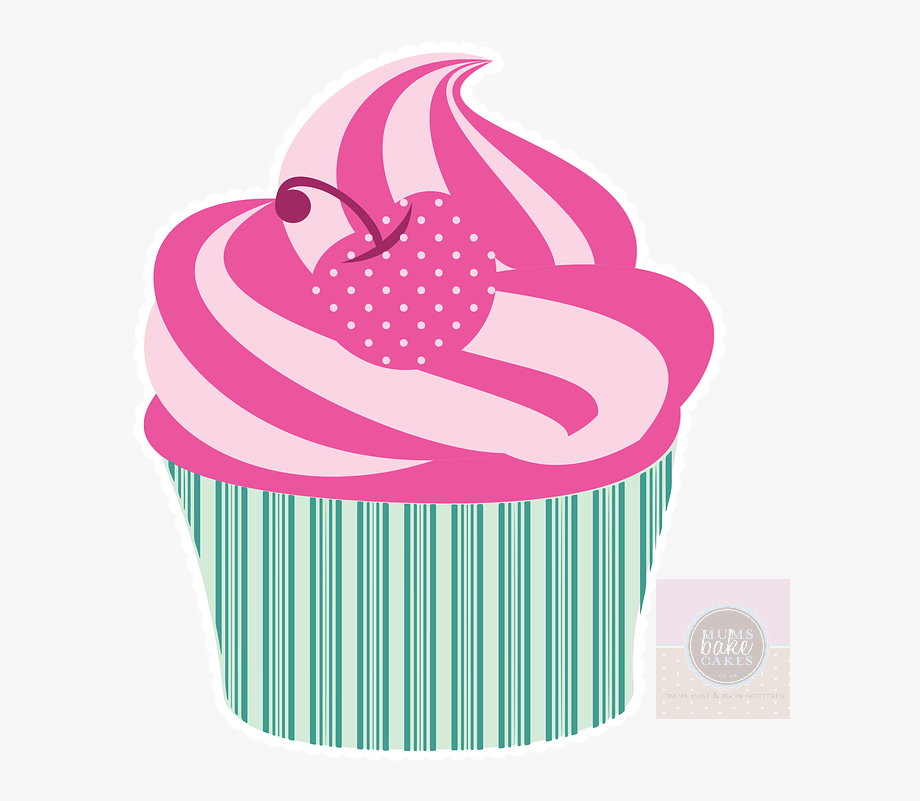 Cupcake Vintage Png, Cliparts & Cartoons.