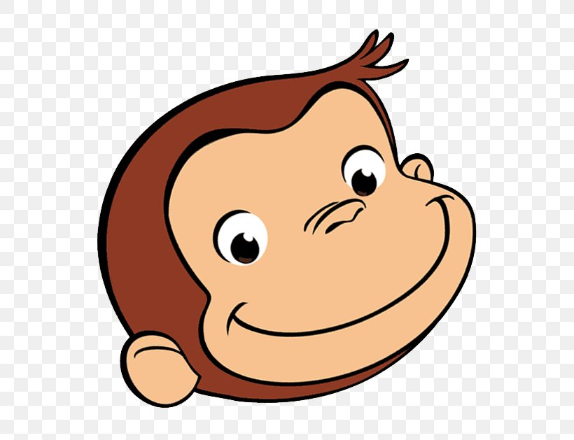 Curious George Coloring Book Drawing Cartoon, PNG, 576x629px.