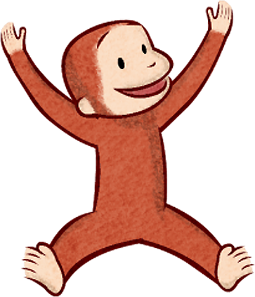 Vintage curious george png clipart clipart images gallery.