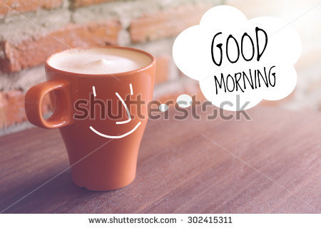 Good Morning Stock Images, Royalty.