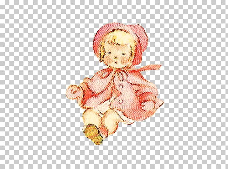 Doll Vintage clothing Toy Kewpie , Baby Vintage s PNG.