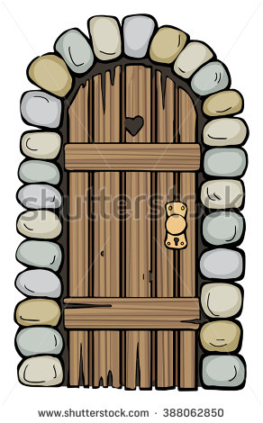Old door clipart.