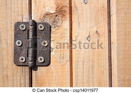 Picture of Door hinge.