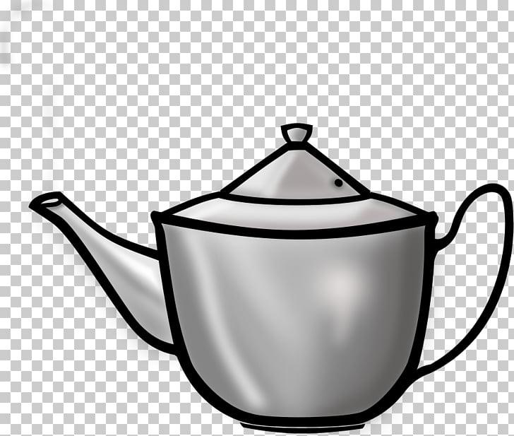 White tea Teapot Clip art.