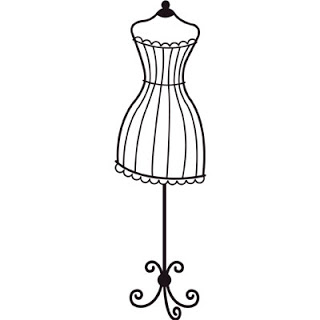 Dress Stand Clipart Silhouette