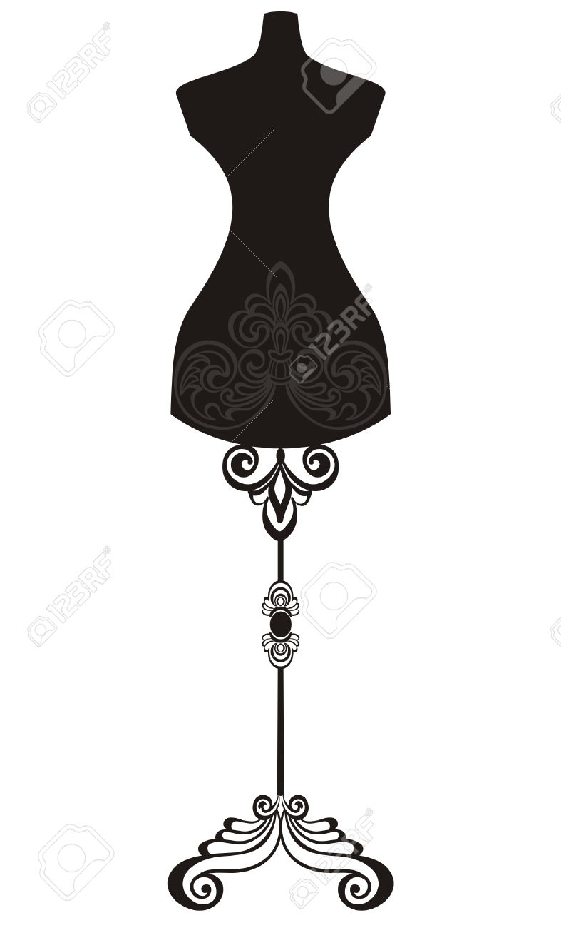 9,516 Mannequin Stock Vector Illustration And Royalty Free.