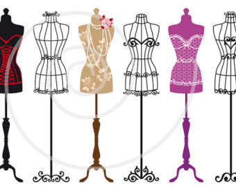 Dress form clip art.