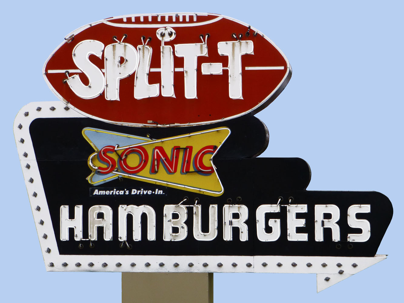 Split T Hamburgers.