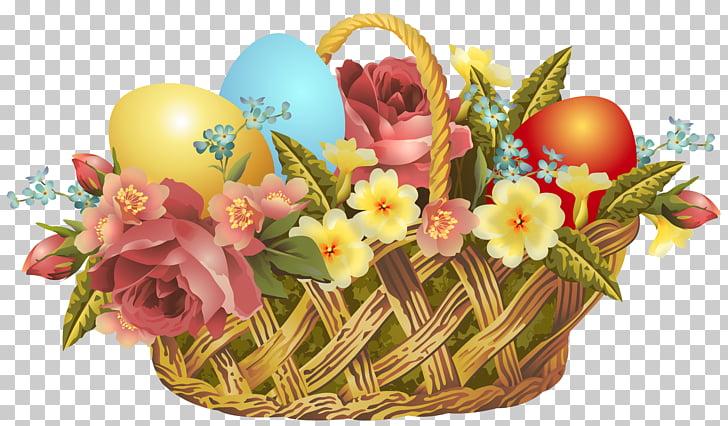 Easter Bunny Easter basket , Vintage Easter Basket.