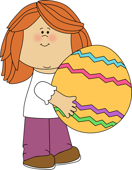 Kids Easter Clipart.