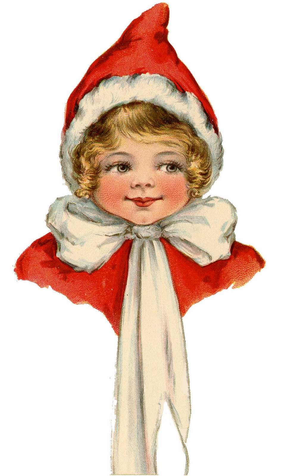 1586 Vintage Christmas free clipart.