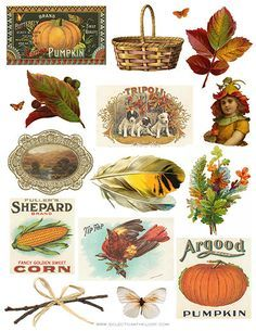 Vintage fall clipart » Clipart Portal.