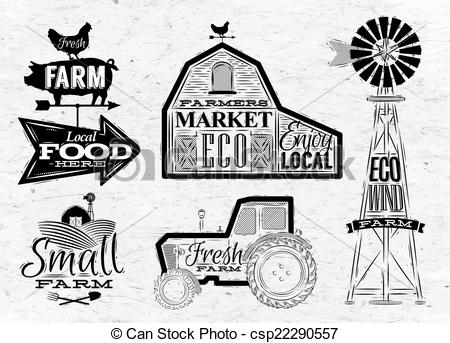 Vintage Farm Animal Illustrations And Stock Art 137285 Illustration