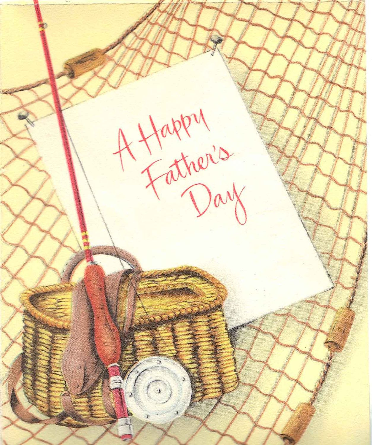vintage Father\'s Day card.