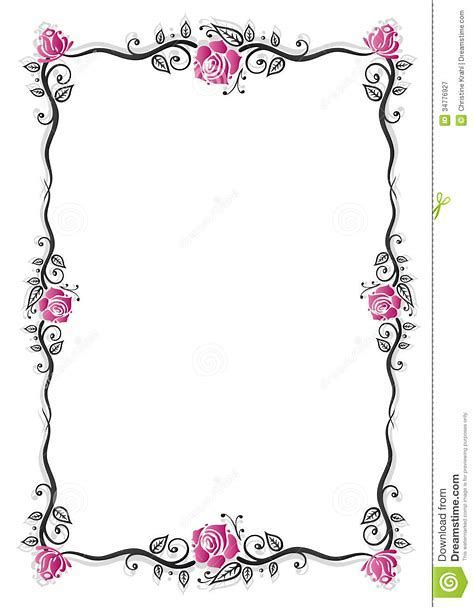 Image result for Filigree Border Clip Art Pink.
