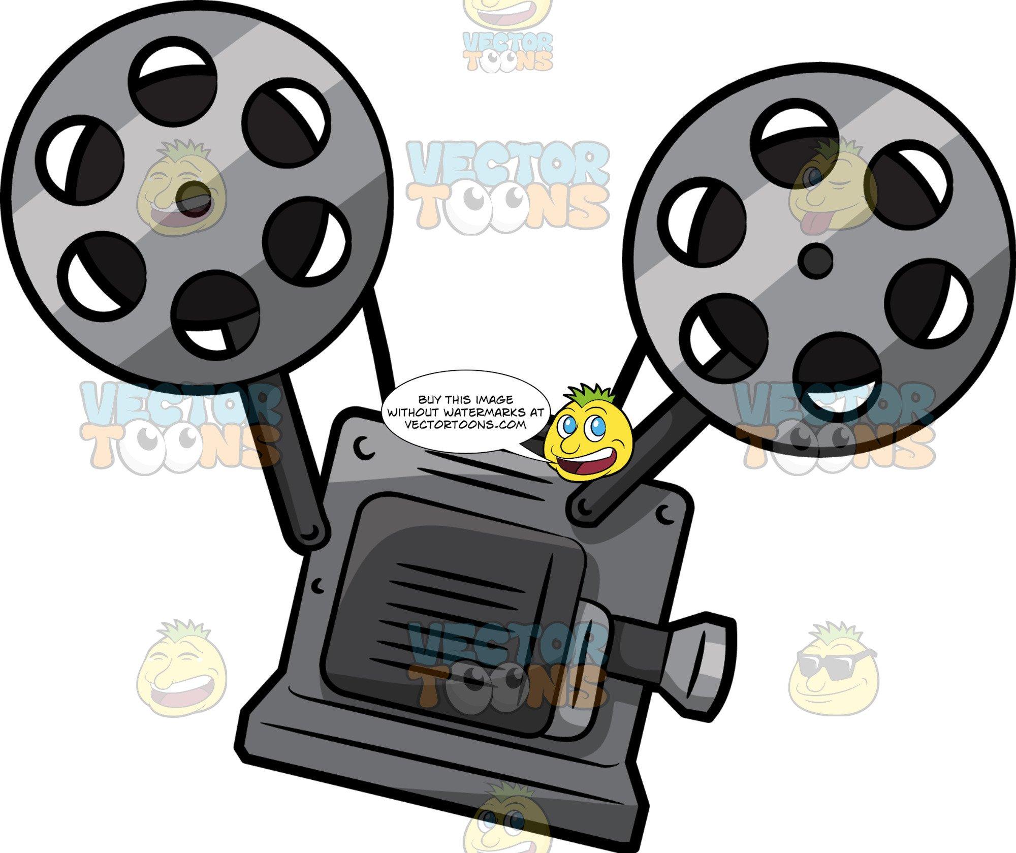 Vintage Film Projector.
