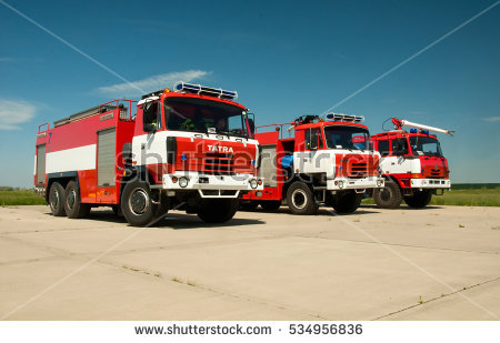 Fire Engine Stock Images, Royalty.