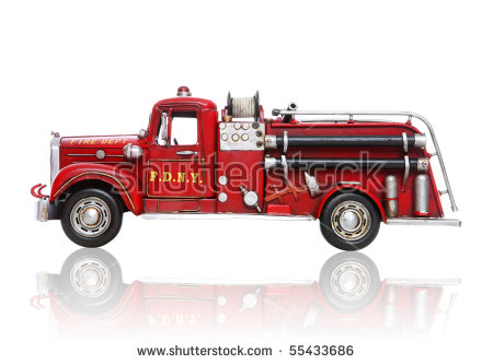 Fire Truck Stock Images, Royalty.