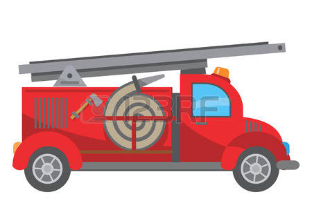 5,186 Fire Truck Stock Illustrations, Cliparts And Royalty Free.