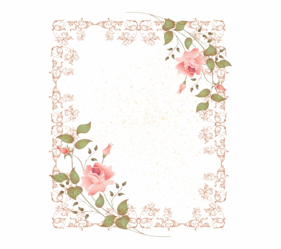 Vintage Flower Clipart Corner.