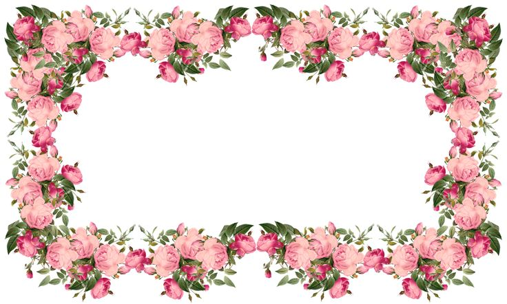 Free Flower Border Png, Download Free Clip Art, Free Clip.