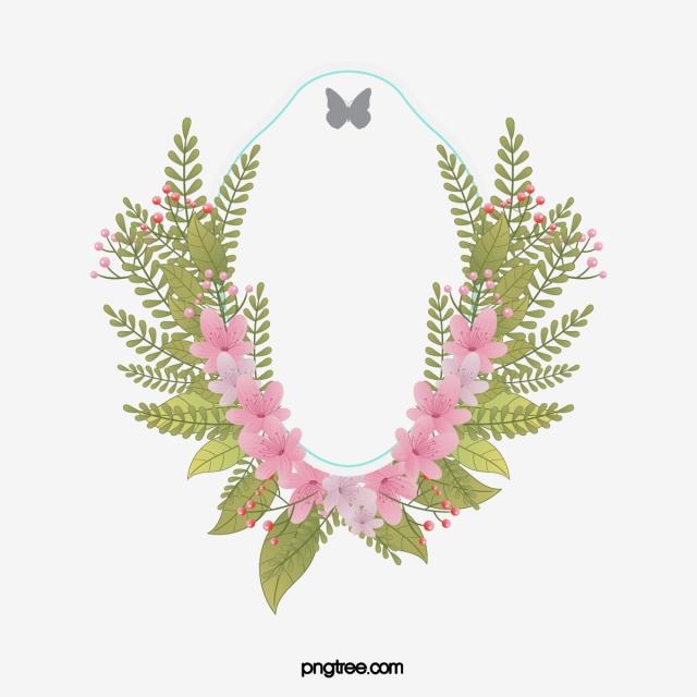 Floral Border PNG Images.