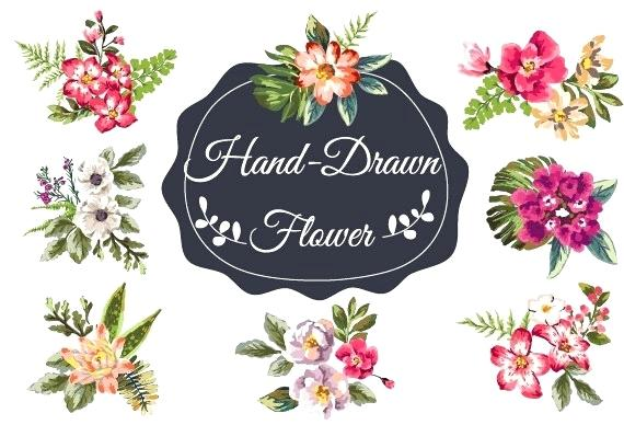 vintage flowers vector free.
