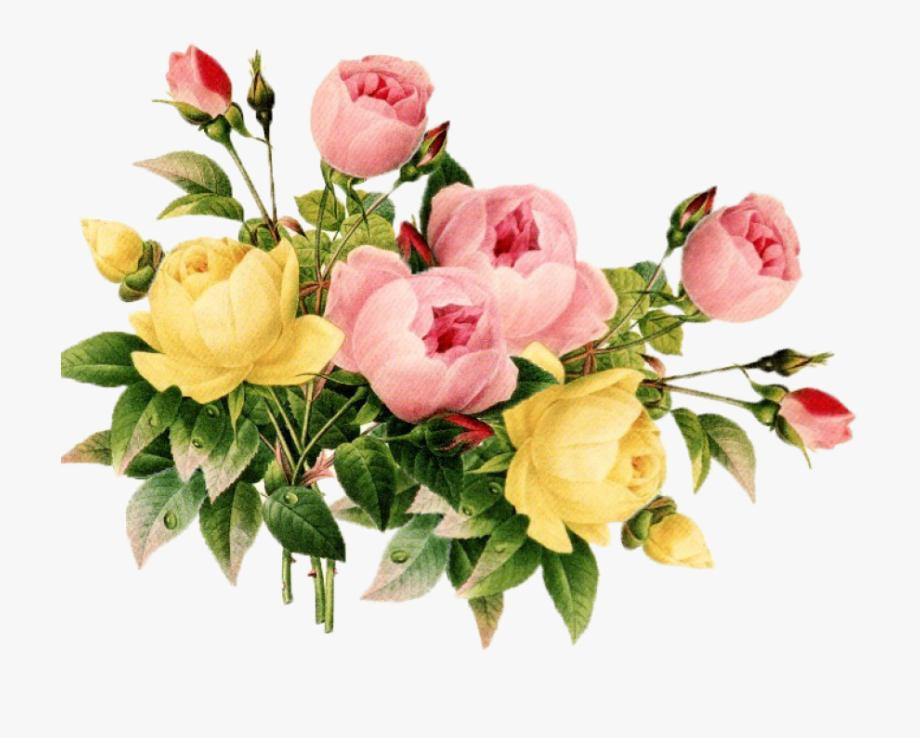 Vintage Flower Clipart Vintag.