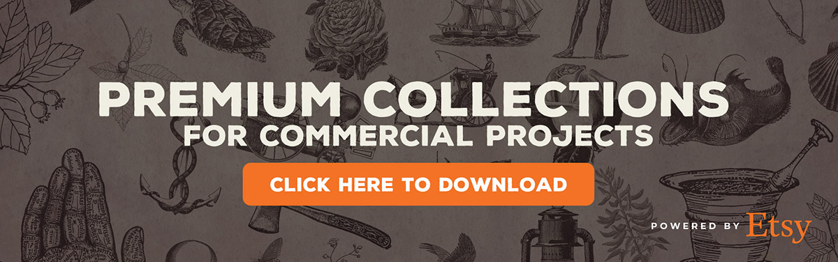 Free Vintage Graphics and illustrations for download.