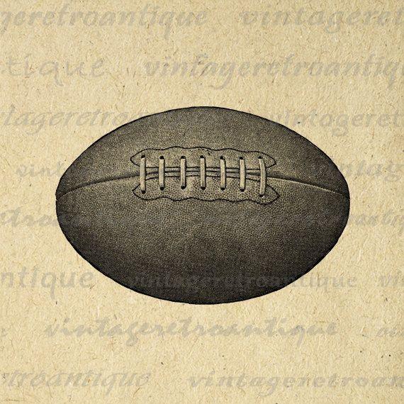 Vintage football clipart 6 » Clipart Portal.