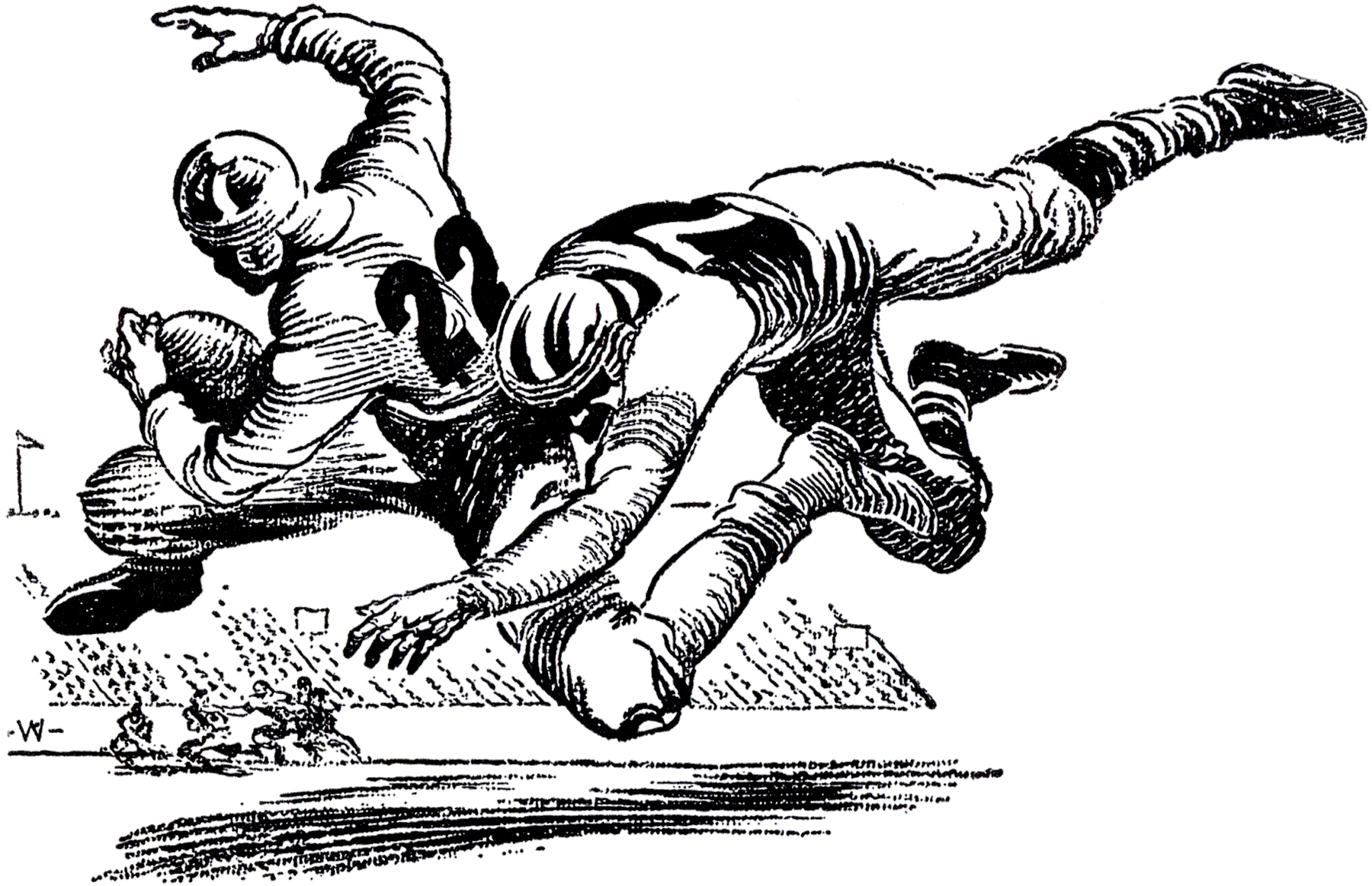 Free Old Football Cliparts, Download Free Clip Art, Free.