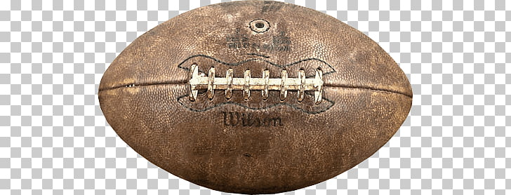 Leather Vintage Rugby Ball, brown Wilson football PNG.