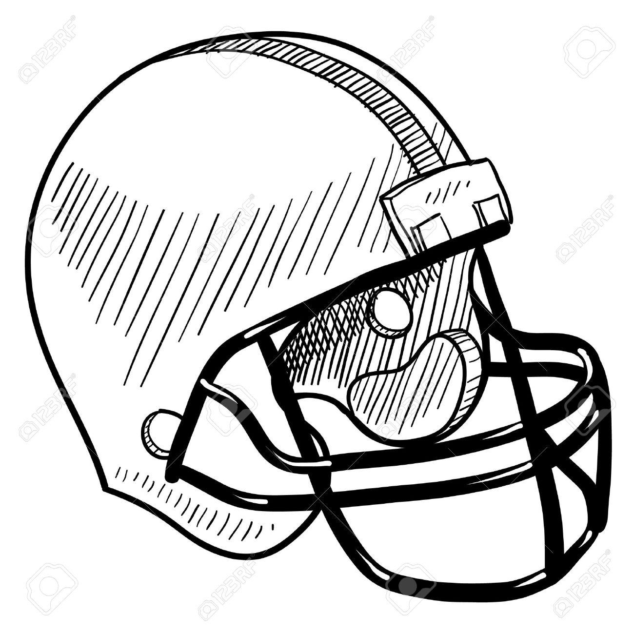 Vintage Football Helmet Clipart Clipground