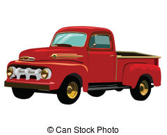 923 Pickup Truck free clipart.