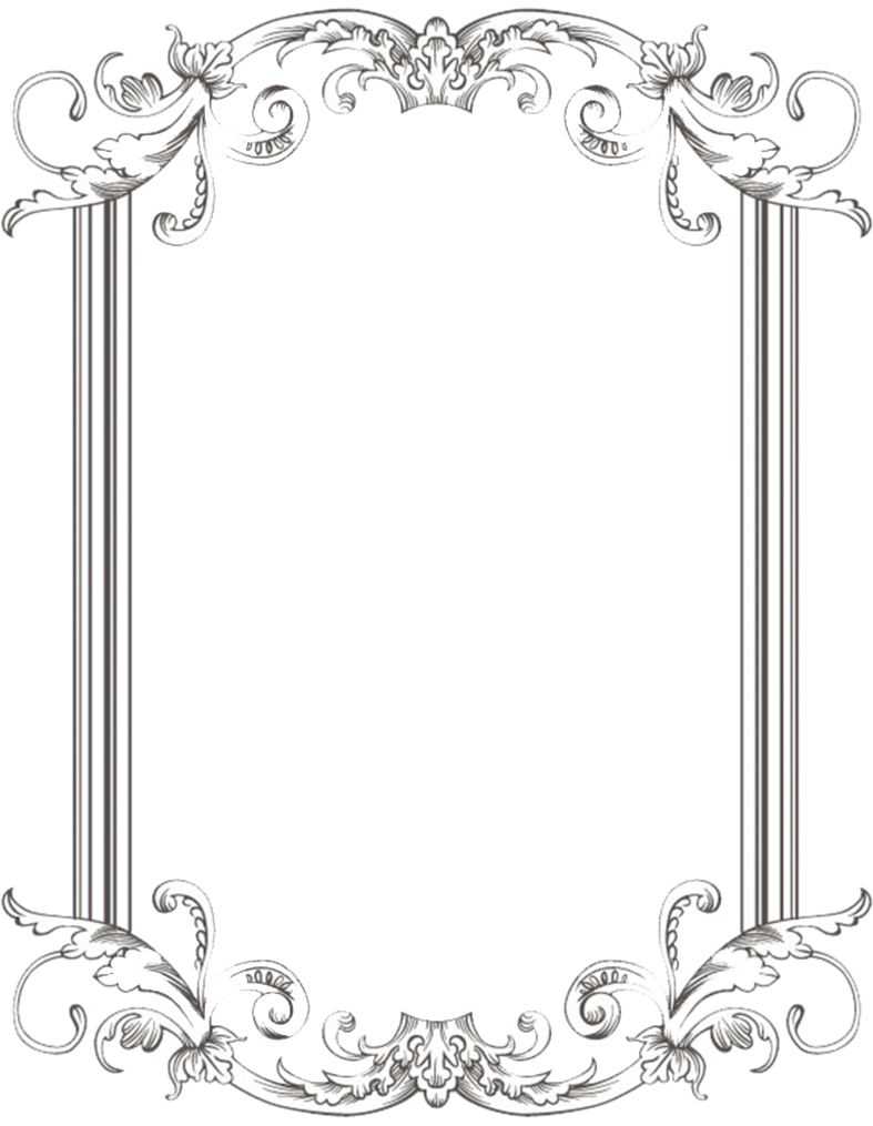 Vintage Frame PNG Images Transparent Free Download.