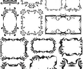 Vintage decorative frames vector 2018 free download.
