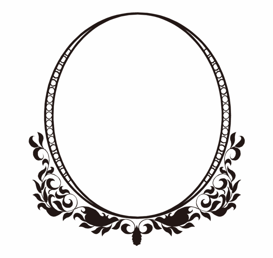 Free Vintage Frame Vector , Png Download.
