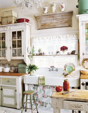 A Stunning Collection of French Country Kitchens.