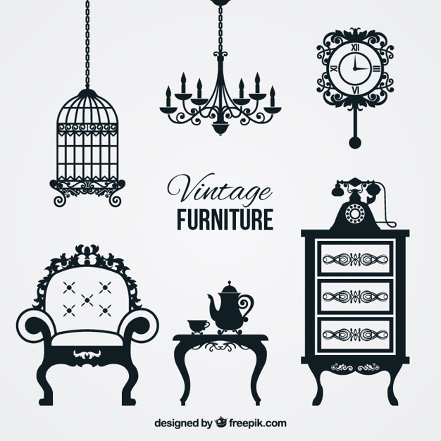 Furniture Silhouette Vectors, Photos and PSD files.