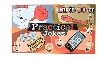 Amazon.com: Family Games Retro Practical Jokes Board Game.