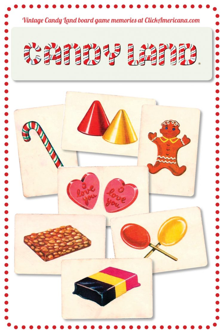 Look back at Candy Land, the vintage board game that made.