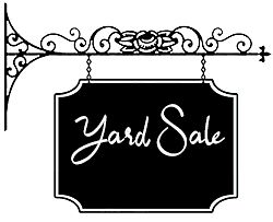 Free Garage Sale Images & Yard Sale Clipart.