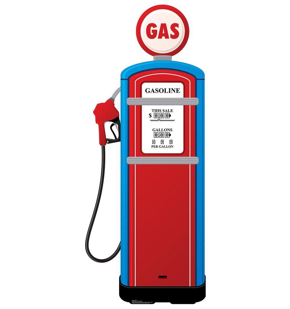 266 Gas Pump free clipart.