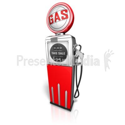 Retro Gas Pump.
