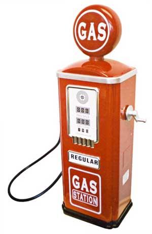 Of A Gas Pump.