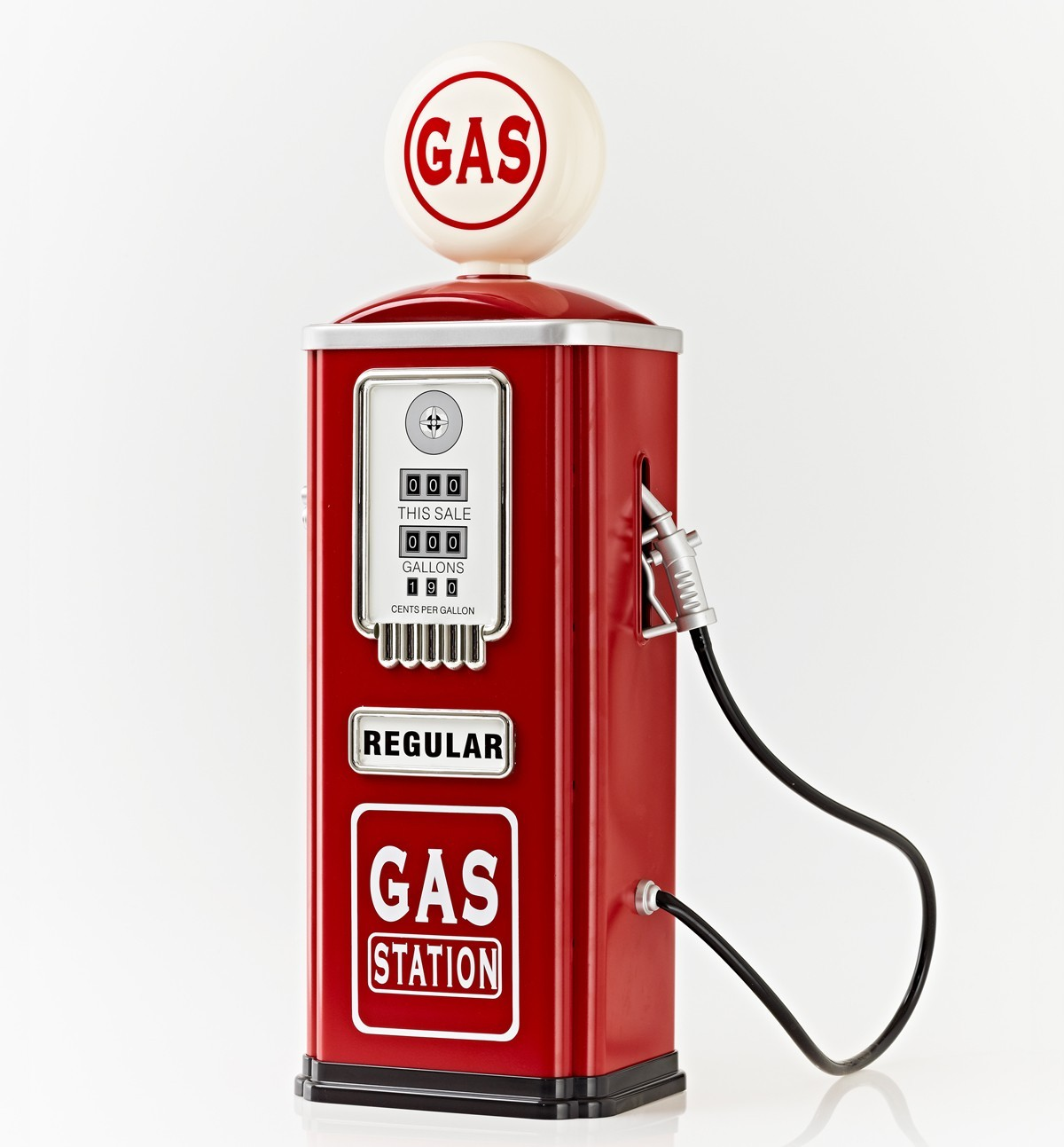 Vintage gas station clipart.