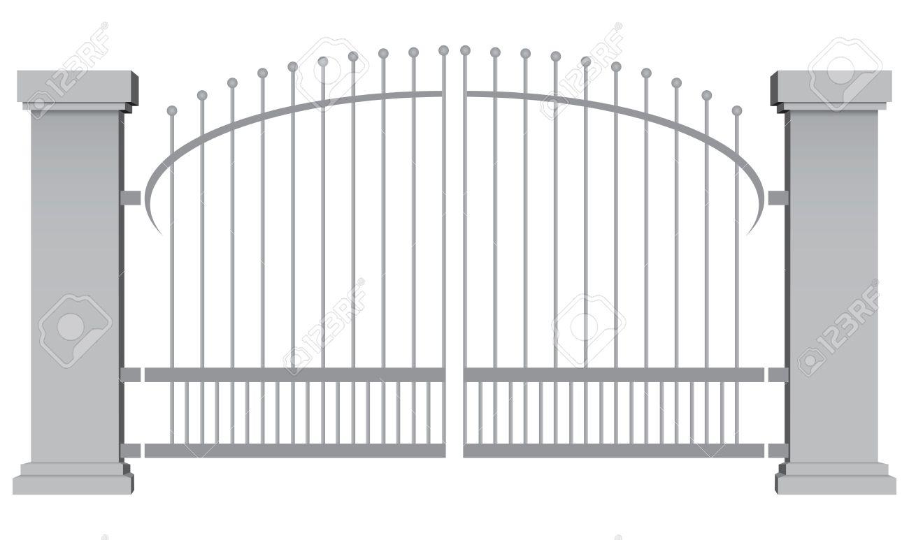 Gate clipart school gate, Gate school gate Transparent FREE.