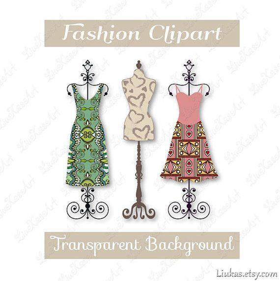 Image result for vintage dress clipart.