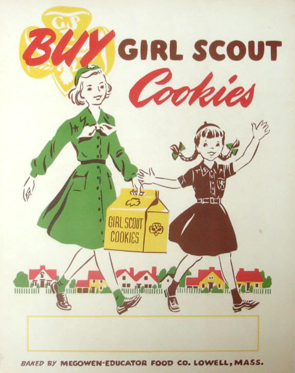 Girl Scout Cookie Posters and more.