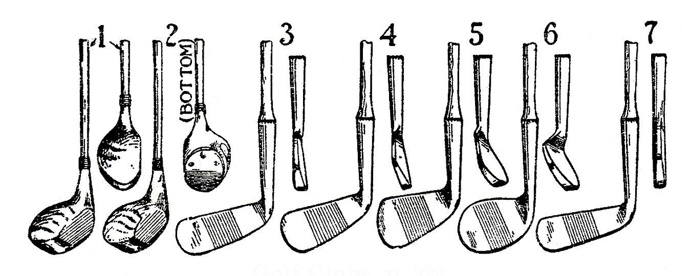 Vintage Sports Clip Art.